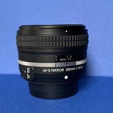 Nikon Nikkor Lens OBIETTIVO AF-S 50mm f 1,8 G Special Edition ( Nikon Df ) Ectra