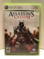 XBOX 360 Assassin's Creed II FREE SHIPPING (Microsoft Xbox 360, 2009)
