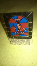 LEGO 6091 6095 6098 Door 2 x 8 x 6 Revolving with Stained Glass Knight 30102px2