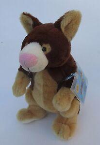QQD Tree Kangaroo WEBKINZ PLUSH new with code ganz stuffed animal