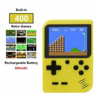 Mini Retro Games Console Classic Handheld 400 Games Built In Portable Gaming UK