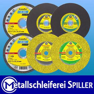 Trennscheiben EXTRA Klingspor Ø100-300mm, Stein Beton Stahl Edelstahl Metall