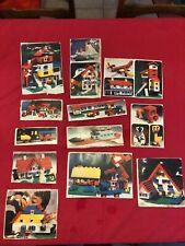 [8731 - E2] Lego - Vintage - Lot boites découpées - System -