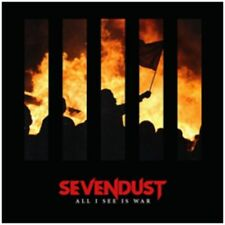 Sevendust - All I See is War - CD Album - Released 11th May 2018