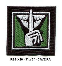 RAINBOW SIX OPERATOR PATCH - CAVEIRA RBSIX20