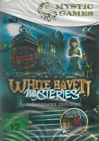 PC CD-ROM + Mystic Games + White Haven + Mysteries + Trügerische Zuflucht +