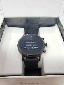 Fossil Gen 5 Carlyle HR Heart Rate St. Steel and Silicone Touchscreen Smartwatch