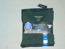 NEW NWT Nautica Mens Sleepwear Pajama Set 2 Piece Sz L Short sleeve / long pant