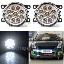 2X LED Front Bumper Fog Driving Light Lamp For SUZUKI Grand Vitara Jimny SX4 L+R