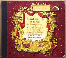 Handel Concerto in B Flat for Harp and Orchestra; RCA Victor Red Seal DM-1201