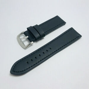 Unisex Faux Leather Writst Watch Band Replacement Strap Band 18/20/22/24mm