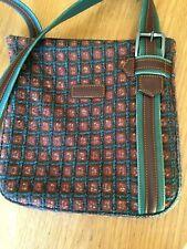 Longchamp sac vintage bandoulière en laine tweed