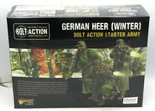Bolt Action 402612003 German Heer (Winter) Bolt Action Starter Army) WWII