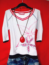 FREESOUL SHIRT PATCHES BLUMEN  HIPPIE ROMANTIK BOHO only BLOGGER S 36 NEUW.!TOP