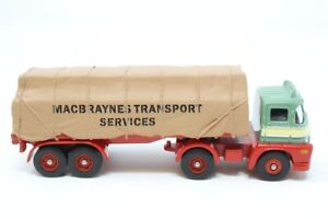 """Corgi 1:76 Trackside DG150003 Foden S21 with Sheeted Trailer """"Macbraynes"""" - NEW"""