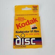 KODACOLOR VR FILM Discs color prints Expired 07/89 -  CVR Disc-15