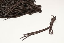 "Brown Shoelaces One Pair 42"" Casual Dress Boot 1/8"" 3mm Round New Shoe Laces"