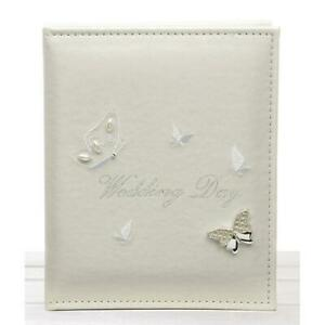 Wedding Day Photo Album Shudehill Celebration Butterfly Marriage Gift Holds 24