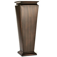 Gar542 Used H Potter Large Outdoor Planter Tall Copper Patio Deck Garden