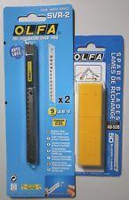 Poêle svr-2 - 45 ° Cutter 9 mm x2 lames + 1x ab-50b 45 ° abbrechklingen = 50 lames