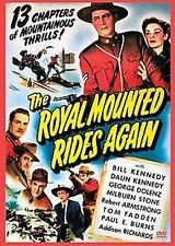 Royal Mounted Rides Again - Cliffhanger Movie Serial DVD  George Dolenz