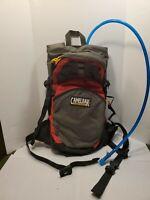 Camelbak Cloud Walker 18 Loter Hydration Back Pack Hiking Black Gray Red