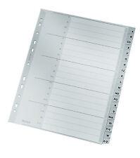 Ordnerregister Register A4 1-20 20tlg 21tlg Manila Ordner-Register blanko