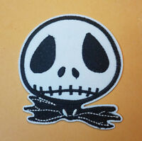 Nightmare Before Christmas Jack Face Logo embroidered Patch 3  inches tall