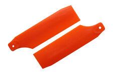 KBDD Neon Orange 61mm Tail Rotor Blades - Trex 450 Blade 450 X #4019