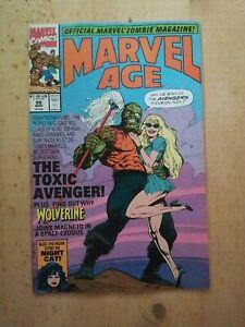 Marvel Age #98 Key 1st The TOXIC AVENGER 1991 Horror Monster Troma Films VF/NM