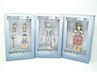 Lot of 3 kingdom hearts 2.5 action figure Sora,Donald Chip&Dale and Dusk,NIB