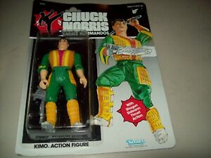 "Chuck Norris Karate Kommandos ""KIMO""  Action Figure 1986 Kenner"