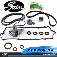 Gates HTD Timing Belt Kit V-Belt Water Pump Valve Cover Gaskets for 06-11 Accent