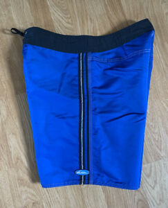 Rare Reflective Vintage NEW Quiksilver 100% Nylon Made USA Surf Board Shorts 34