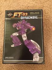 Fans Toys Transformers MP Masterpiece FT-03 Quakewave 1st Release
