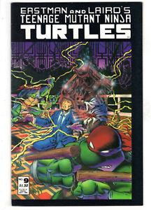 TEENAGE MUTANT NINJA TURTLES #9 (1986) - GRADE 8.0 - MIRAGE ORIGINAL SERIES!