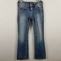 Silver Suki Boot Cut Women's Medium Wash Blue Jeans Size 28 x 32