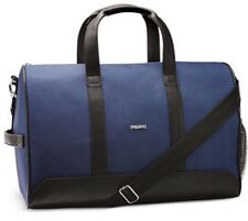 NEW Giorgio Armani blue/black Duffle Bag Weekender sports shoulder Travel Gym