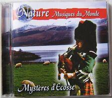 NATURE MUSIQUES DU MONDE (CD) MYSTERES D'ECOSSE  CORNEMUSE