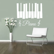 Music Piano Vinyl Decal Musical Vinyl Stickers Home Interior Window Sticker 18