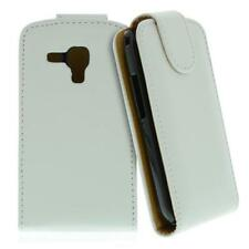 For SAMSUNG GALAXY S DUOS / S7562 White Imitation Leather Case, Cell Phone Case