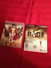 Army Of Two 40th Day & Rage Anarchy- Ps3 L@@K
