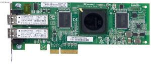 HP 407621-001 QLE2462-HP FC 4Gb DUAL PORT PCIe LP