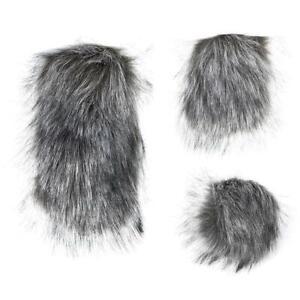 Microphone Windshield Windscreen Muff for Camera Fur Wind Shield S/M/L HGJ