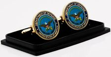 Dept of Defense Cufflink and Tie Tag