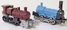 2 Kinder Locomotive Train Engines 19th Century K93n79 Brown K93n76 Blue Dampflok