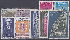 French Andorra Scott 210-18a Mint NH (Catalog Value $40.60)