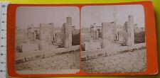 Pompei Casa di Sallustio stereophoto G. Brogi di Firenze - fine 800