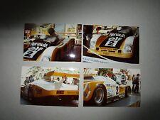 N°6888 / 4  photos d'amateur d'epoque  24 H du Mans RENAULT A 442 B      1978
