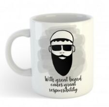 With Great Beard Comes Great Responsibility - Muslim Eid Gift Mug